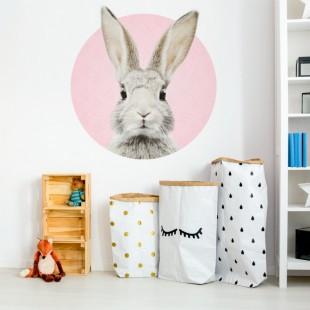 Detská nálepka na stenu s motívom zajačika