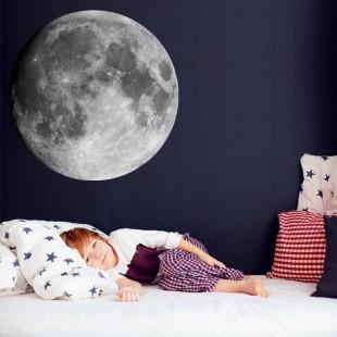 Detská nálepka na stenu s motívom mesiaca