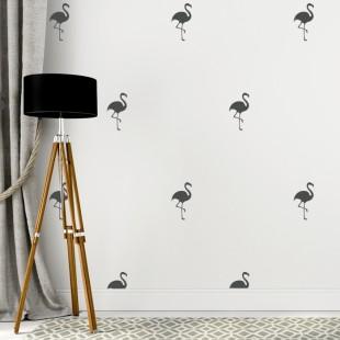 Detské nálepky na stenu s motívom plameniakov