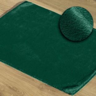 Zelený mäkký kúpeľňový koberček