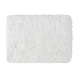 Luxusný biely koberček do kúpeľne