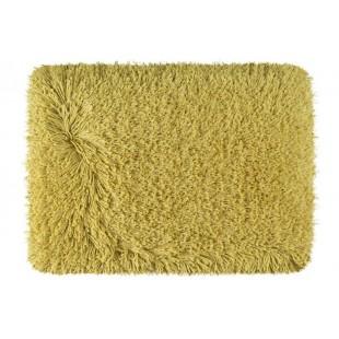 Luxusný žltý kúpeľňový koberček