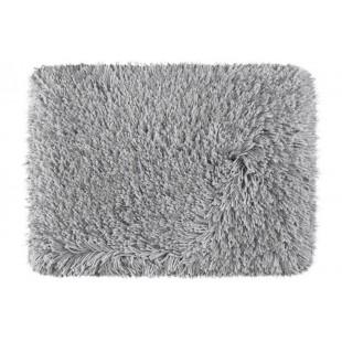 Luxusný sivý kúpeľňový koberček