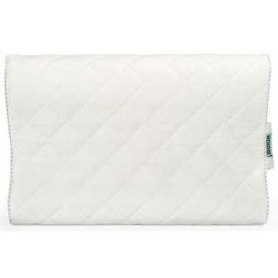 Biely ergonomický vankúš vhodný pre alergikov