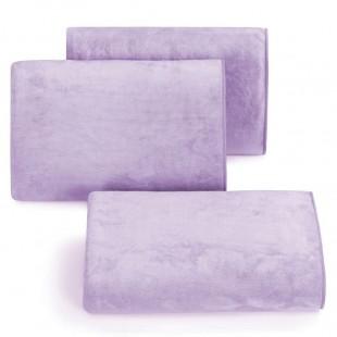 Rýchloschnúci svetlo fialový uterák do kúpeľne