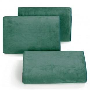 Rýchloschnúci tmavo zelený uterák do kúpeľne
