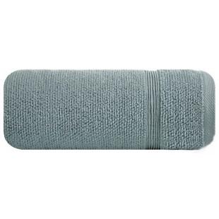 Sivá jednofarebná bavlnená osuška