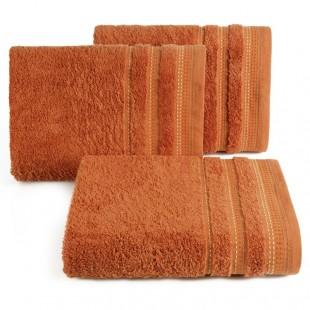 Pomarančový uterák z česanej bavlny