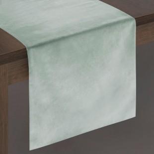 Sivý dekoračný behúň na stôl