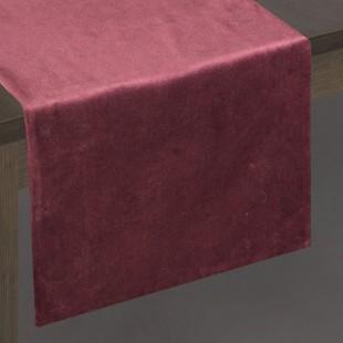 Bordový dekoračný behúň na stôl