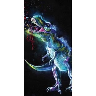 Farebná detská osuška Dinosaurus