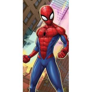 Modro červená detská osuška - Spiderman