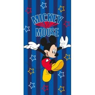 Modro červená detská osuška - Mickey Mouse