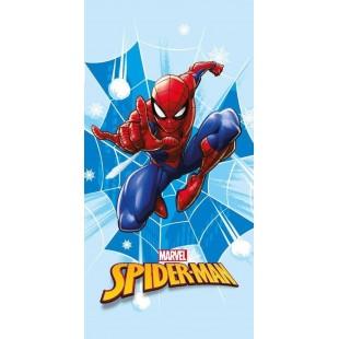 Modrá detská osuška Spiderman