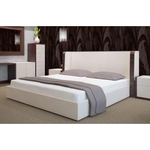 Biela flanelová posteľná plachta bez napínacej gumičky