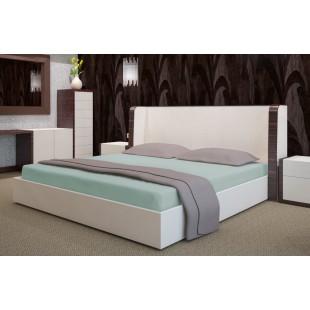 Mätová flanelová posteľná plachta s napínacou gumičkou