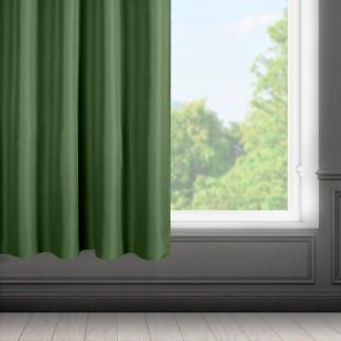 Zelený stredne zatemňujúci záves s riasiacou páskou