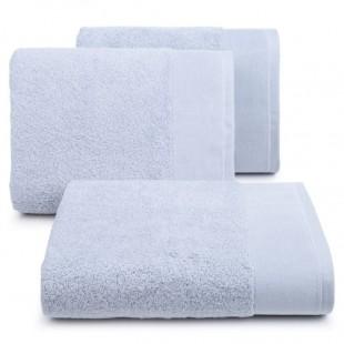 Sivý bavlnený kúpeľňový ručník