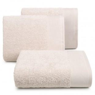 Béžový bavlnený kúpeľňový ručník