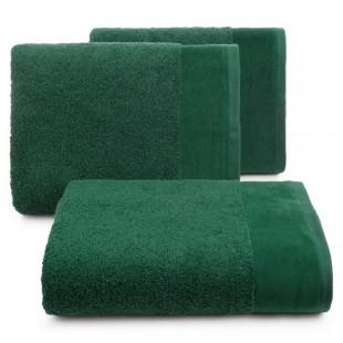 Zelený bavlnený kúpeľňový ručník