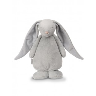 Šumiaci MOONIE zajačik sivej farby
