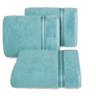 Svetlomodrý bavlnený kúpeľňový ručník