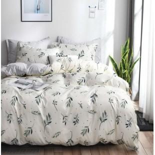 Krémová obojstranná posteľná obliečka z mikrovlákna