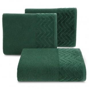 Zelený kúpeľňový bavlnený ručník