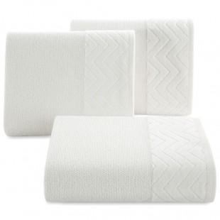 Biely kúpeľňový bavlnený ručník
