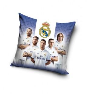 Obliečka na vankúš Real Madrid s futbalovými hráčmi