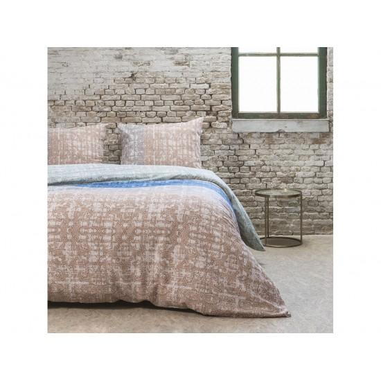 Farebne pruhované posteľné obliečky v etno štýle