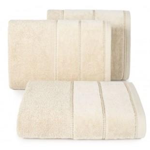 Jemný béžový bavlnený ručník