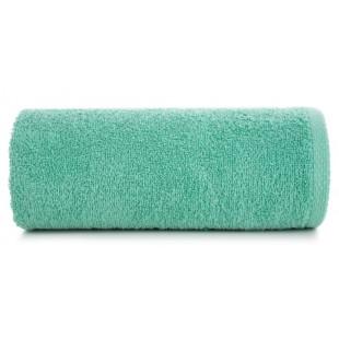 Zelený jemný bavlnený ručník