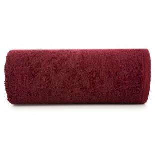 Bordový jemný bavlnený ručník