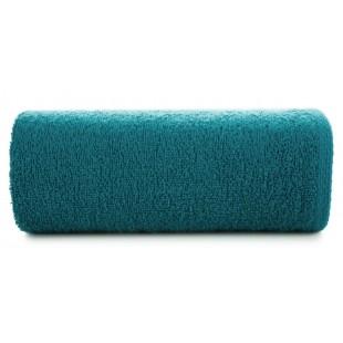 Tmavotyrkysový jemný bavlnený ručník