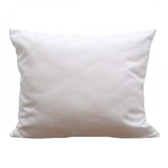 Biela obliečka z mikrovlákna na vankúšik