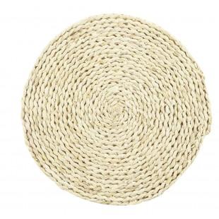 Kruhové prestieranie na stôl z morskej trávy