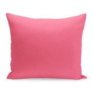 Ružová obliečka na vankúš z mikrovlákna