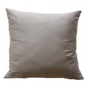 Sivá obliečka na vankúš zo saténovej bavlny