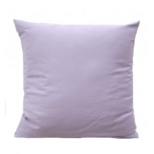 Svetlo fialová obliečka na vankúš zo saténovej bavlny
