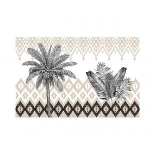 Vzorované prestieranie na stôl s palmou