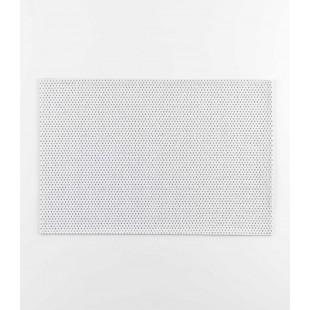 Bielo-strieborné prestieranie na stôl