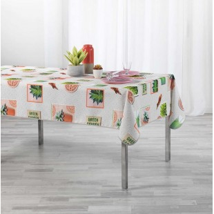 Obrus na stôl Green Garden s rastlinným motívom