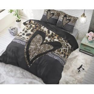 Bavlnená posteľná obliečka s leopardím vzorom