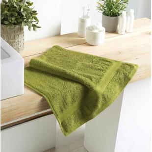 Pistáciový bavlnený kúpeľňový ručník
