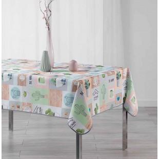 Farebný vzorovaný obrus na stôl