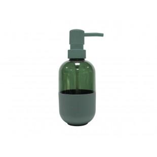 Zelený jednofarebný dávkovač mydla