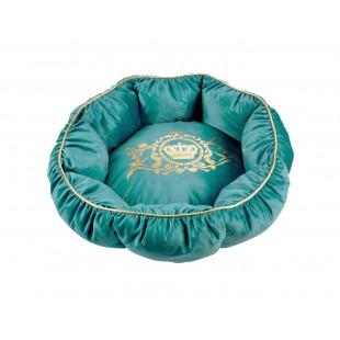 Zelené luxusné ležovisko pre zvieratká