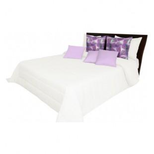 Prešívaný prehoz na posteľ v jemnej pieskovej farbe