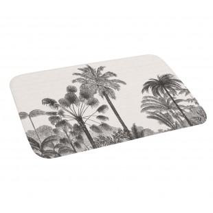 Protišmykový kúpeľňový koberček s palmami